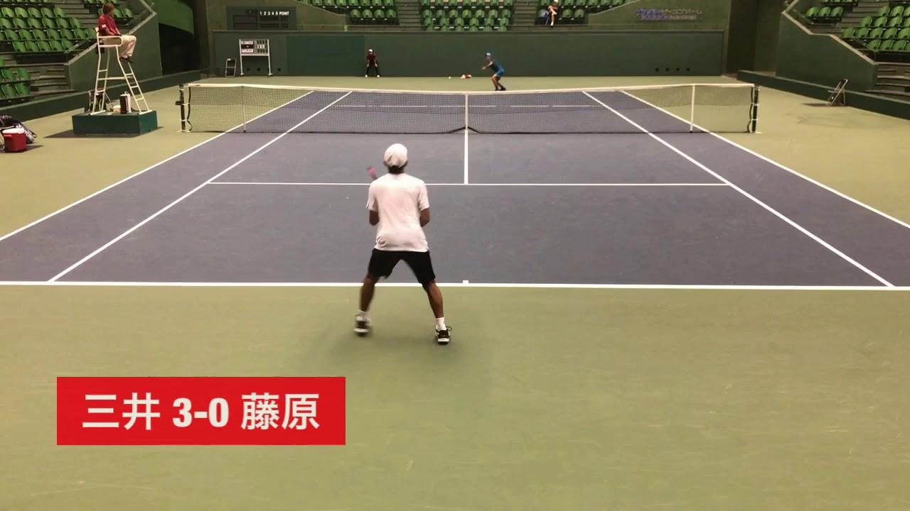 【2018兵庫国際②/決勝戦】三井駿介 対 藤原智也