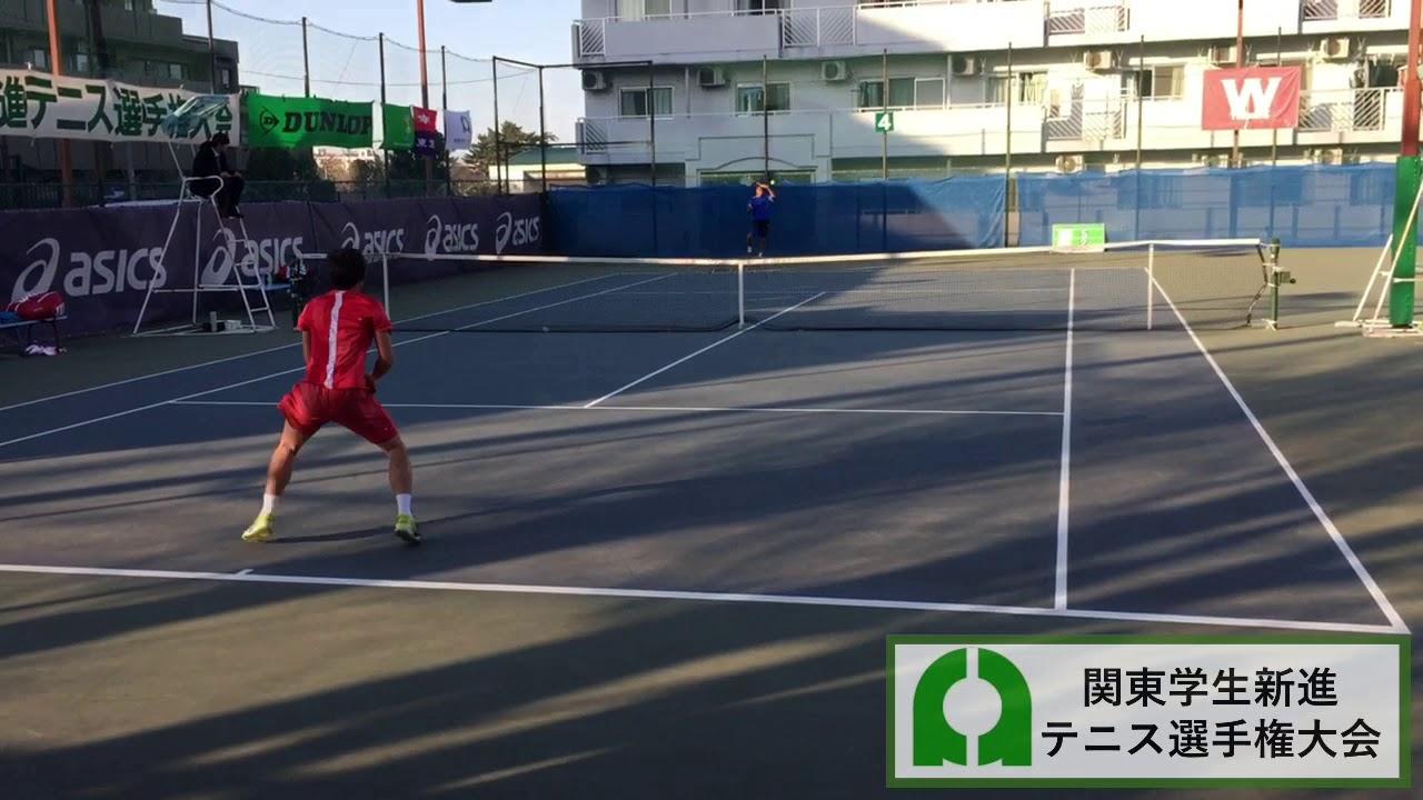 【2018年度/関東新進/2R】古賀大貴(早大) 対 ディサナヤカ玲生(専大)