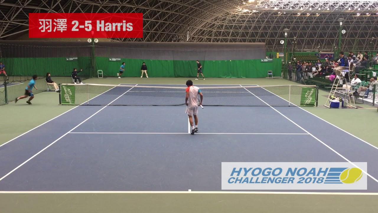 【2018兵庫ノアCH/1R】羽澤慎治 対 A. Harris
