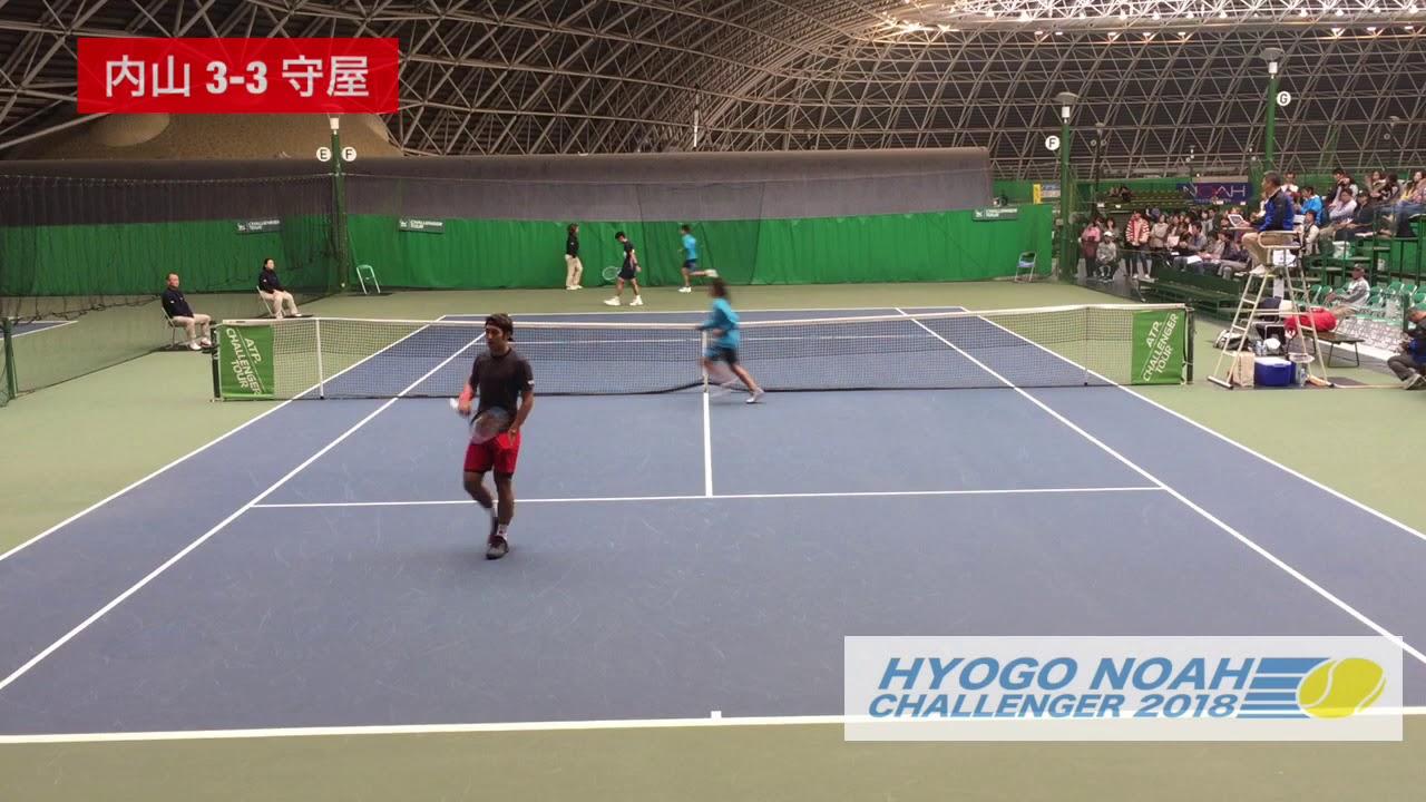 【2018兵庫ノアCH/QF】内山靖崇 対 守屋宏紀