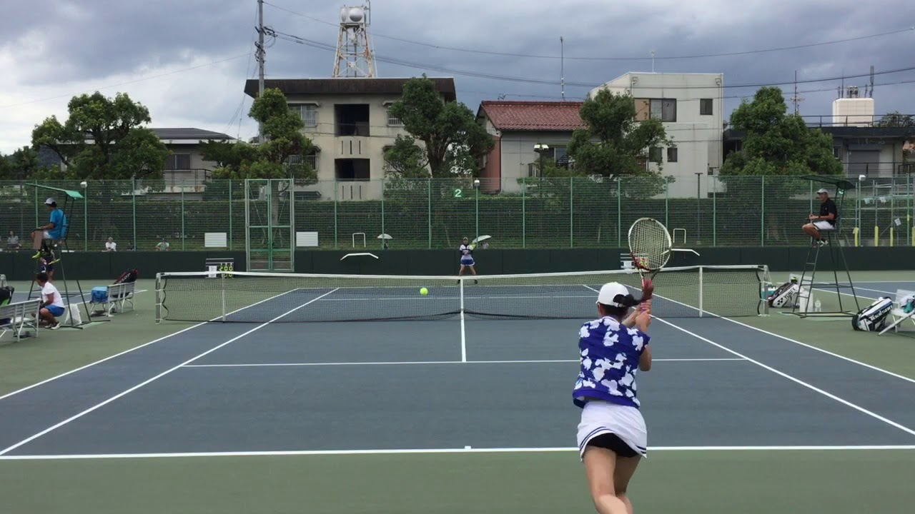 【2019インカレ/1R】末吉志帆(神戸松蔭女大) 対 河本鈴香(東海大) 2019 インカレ 女子シングルス 1回戦