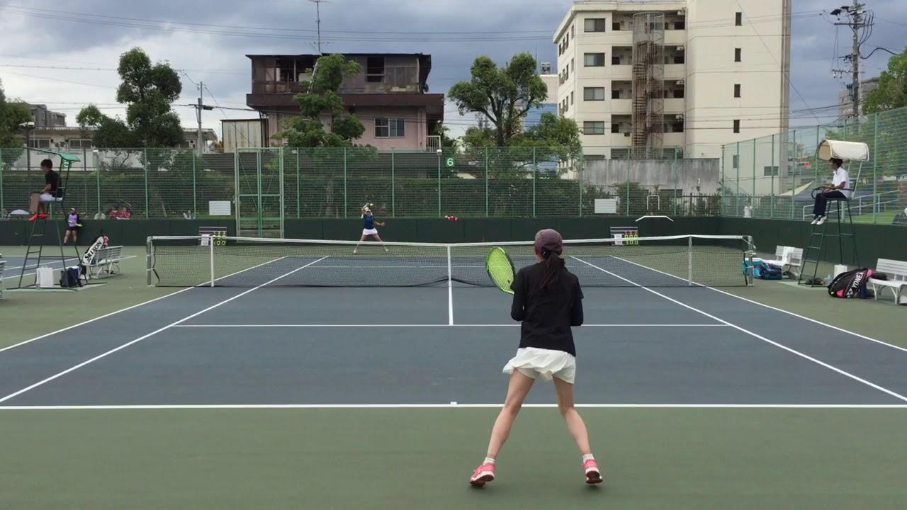 【2019インカレ/1R】征矢愛耶乃(信州大) 対 安藤優希(早大) 2019 インカレ 女子シングルス 1回戦