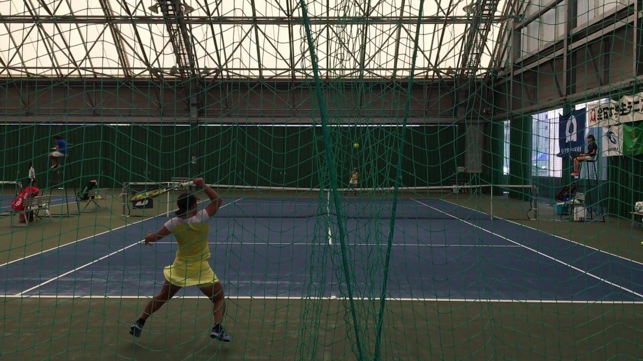 【2019インカレ/QF】吉田安佐 vs 小池颯紀 2019 インカレ 女子シングルス 準々決勝