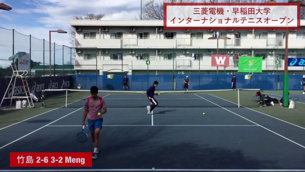 【2019ITF早稲田/予1R】竹島駿朗(Team REC) 対 Cing-Yang MENG(台湾)