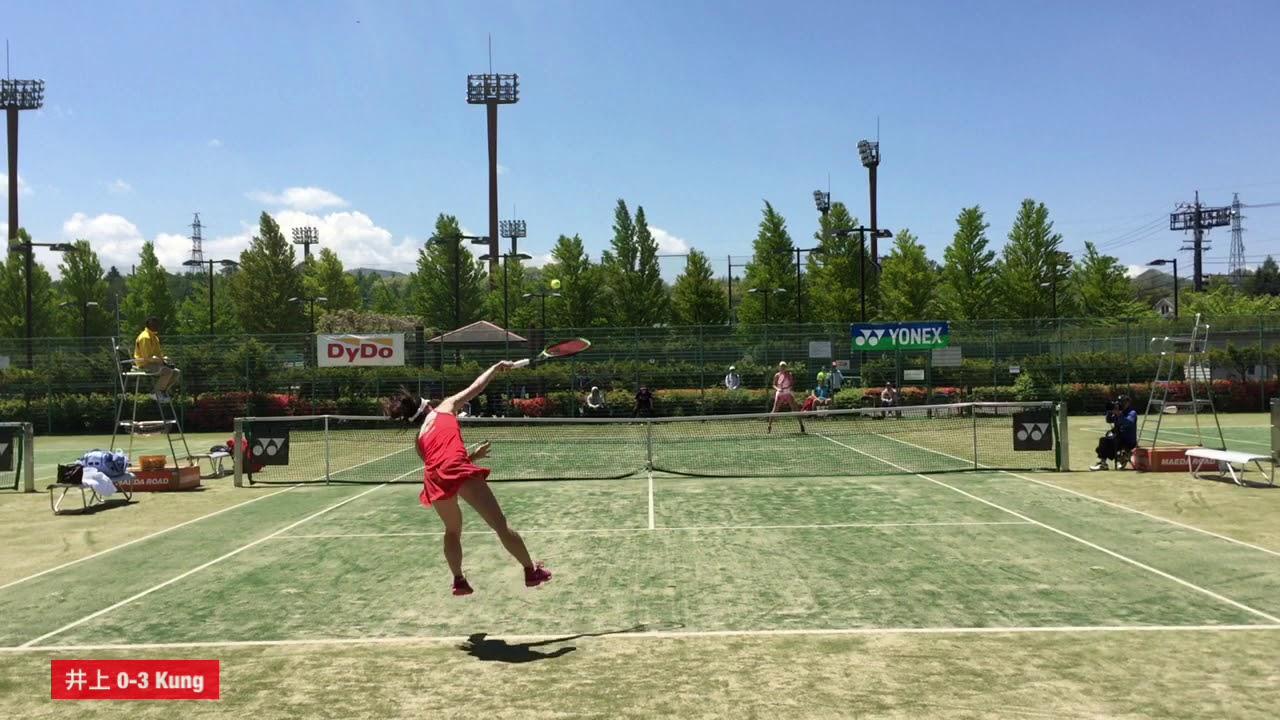 【2019ITF軽井沢/2R】井上雅(テニスラウンジ) 対 L. Kung(スイス)
