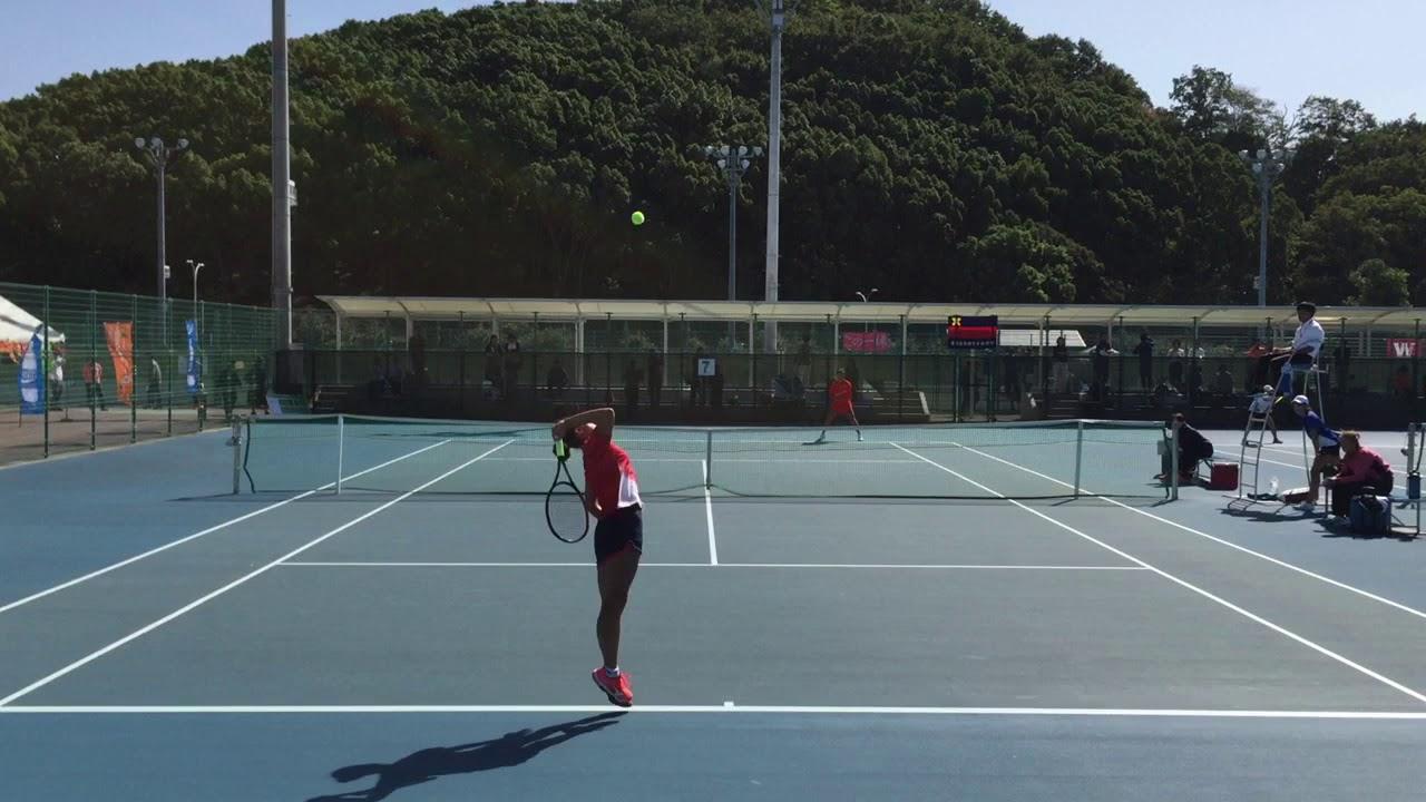 【2019王座/3決/S2】平田歩(慶大) vs 西本聖良(姫大) 2019年度 全日本大学対抗テニス王座決定試合 3位決定戦
